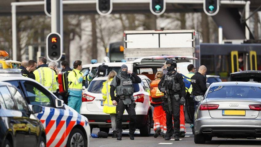 فيديو| حادث هولندا.. القبض على المشتبه به في هجوم أوتريخت