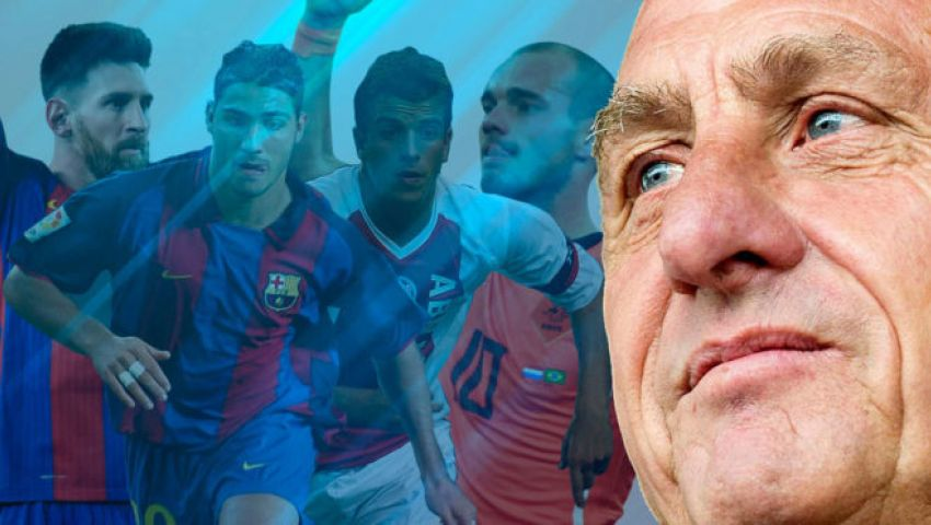 بالفيديو| 10 لاعبين تجسدت فيهم موهبة كرويف