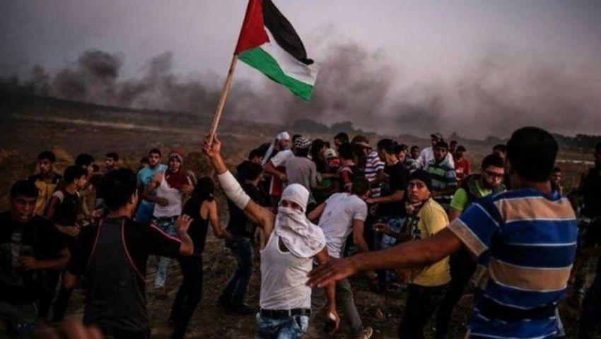 جيش الاحتلال يقمع مسيرات العودة شرقي غزة