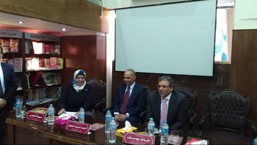 أحمد السيد النجار: سعيد بعودة خالد يوسف للسينما وأعجبت بحديثه عن الحريات
