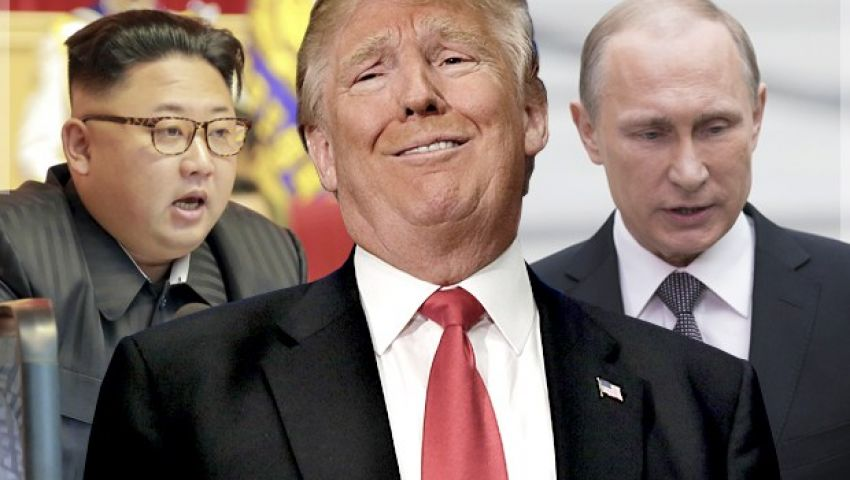 بتراشق كلامي وخطوت استفزازية.. كيم يضغط على ترامب ويغازل بوتين
