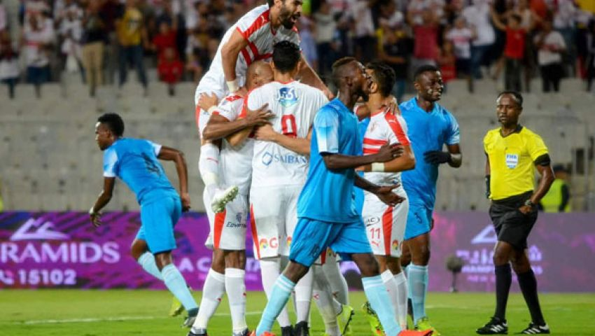 ميتشو يحقق أول انتصار وتألق مصطفى محمد.. ضمن مشاهد لقاء الزمالك وديكاداها