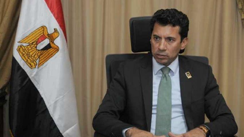 وزير الرياضة يؤكد: نهائي الأهلي والزمالك بدون جمهور