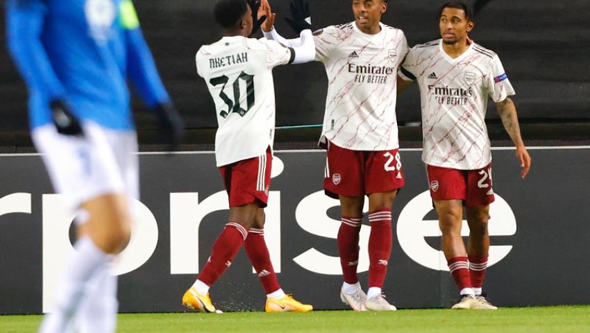 الدوري الأوروبي| أرسنال يتأهل.. وليستر سيتي يتعثر أمام براجا (فيديو)