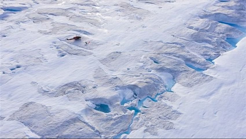 بالصور.. ناسا تكشف ذوبان الأنهار الجليدية في جرين لاند