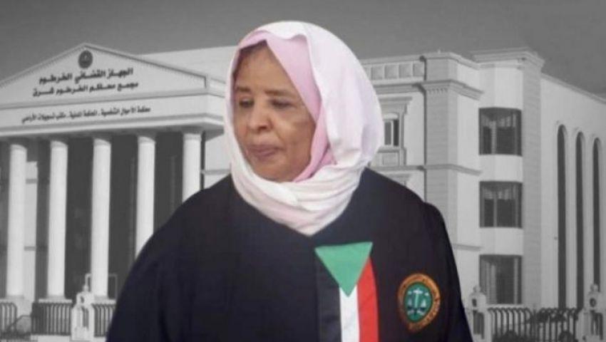 «الكنداكة الثائرة»أول امرأة رئيسة لقضاء السودان.. من هي نعمات عبدالله خير؟