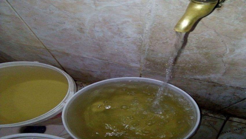 بالصور| «خليها في الحنفية».. حملة سكندرية جديدة احتجاجا على تلوث مياه الشرب