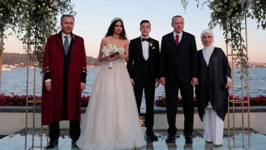 فيديو.. شهادة أردوغان على عقد قران أوزيل تثير جدلاً صاخبًا