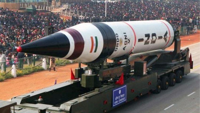 الهند تعلن نجاح تجربة جديدة على أسرع صاروخ عابر للقارات