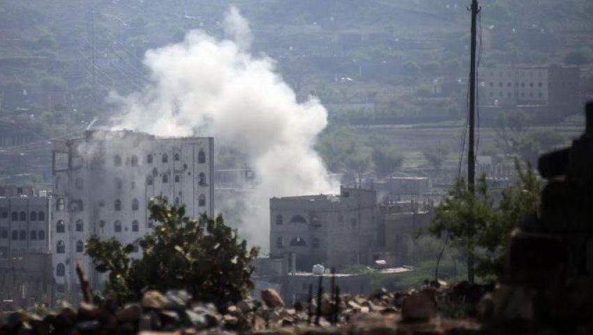 بعد قصف مطار أبها.. التحالف العربي يستهدف مواقع عسكرية للحوثيين في اليمن