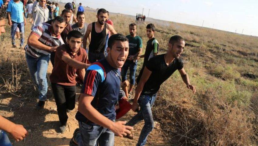 إصابة فلسطيني برصاص الاحتلال قرب حدود غزة