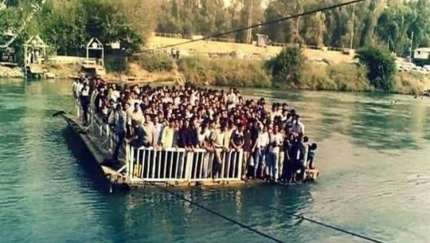 ارتفاع حصيلة ضحايا عبارة الموصل إلى 100 غريق