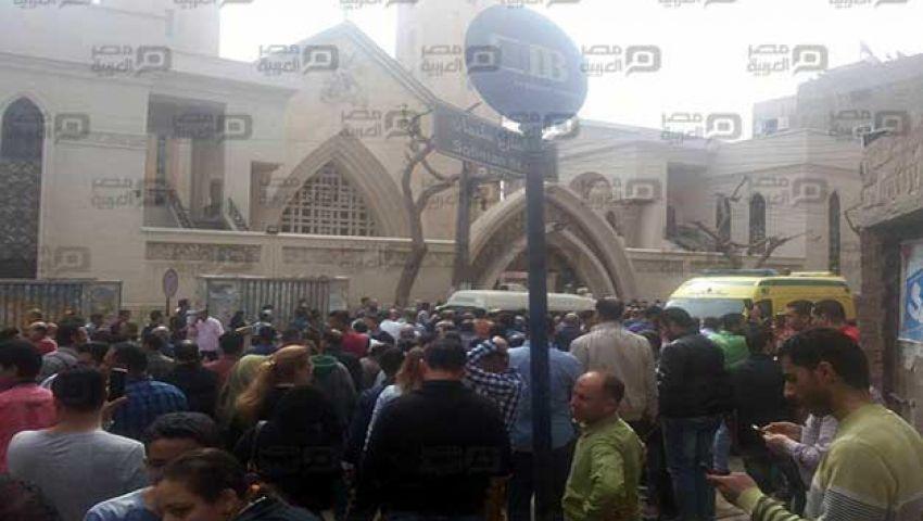 التحفظ على رأس الانتحاري المتورط في انفجار كنيسة مارجرجس بالغربية
