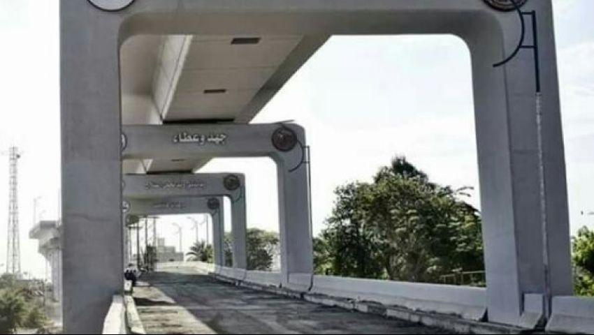 فيديو وصور  «محور روض الفرج» شريان مروري جديد يربط بين شمال القاهرة وغربها