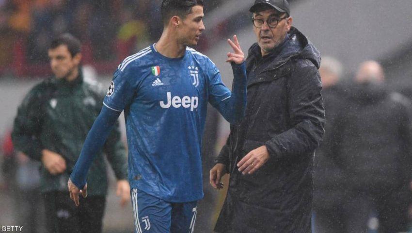رونالدو vs ساري.. هل يقلب البرتغالي الطاولة على مدرب يوفنتوس؟