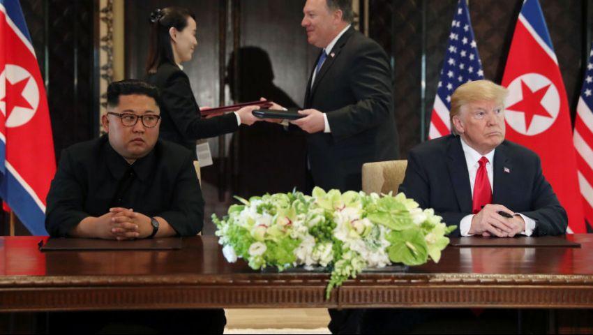 واشنطن تأمل في استئنافها.. هل تهدد المناورات «مفاوضات الكواليس» مع بيونج يانج؟