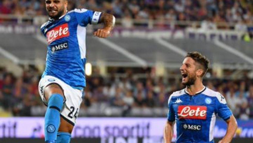 فيديو| في مباراة شهدت 7 أهداف.. نابولي يهزم فيورنتينا بـ«الكالتشيو»
