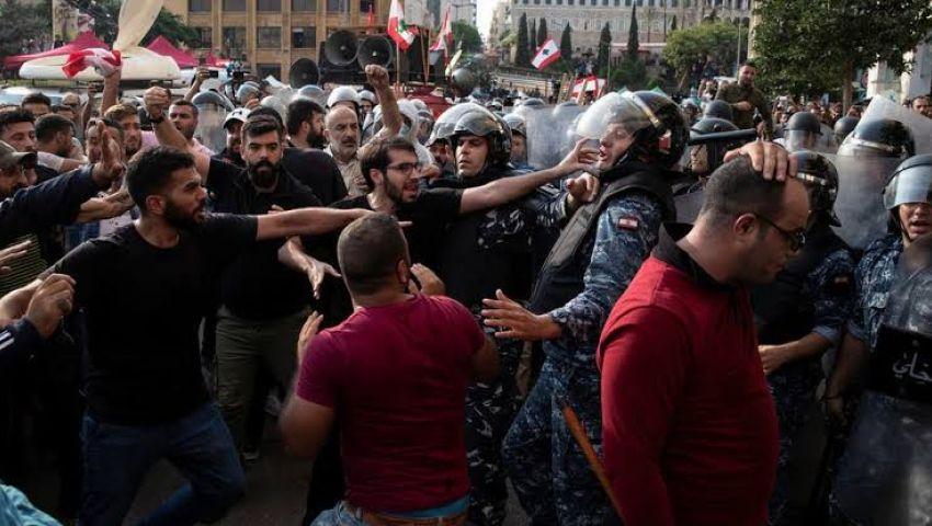 أنصار حزب الله وحركة أمل يثيرون الرعب في بيروت.. هذا ما حدث في «جسر الرينغ»