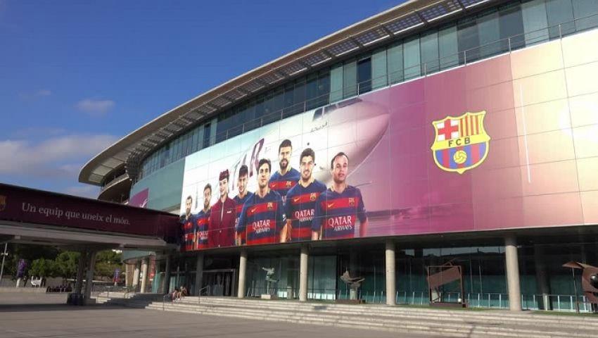 ظهور حالتي إصابة بفيروس كورونا في نادي برشلونة