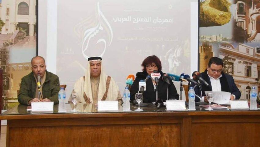 مهرجان المسرح العربي يفتح ستاره من المحروسة.. وينطلق 10 يناير