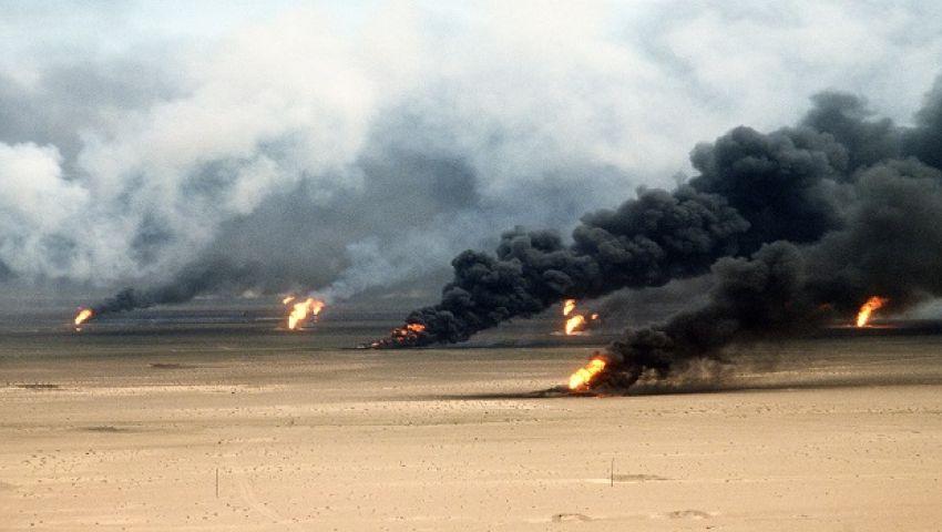 إخماد حريق في معمل كبريت شمالي العراق