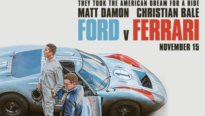 شباك التذاكر.. «Ford v Ferrari» سباق السيارات يتصدر بـ 31 مليون دولار