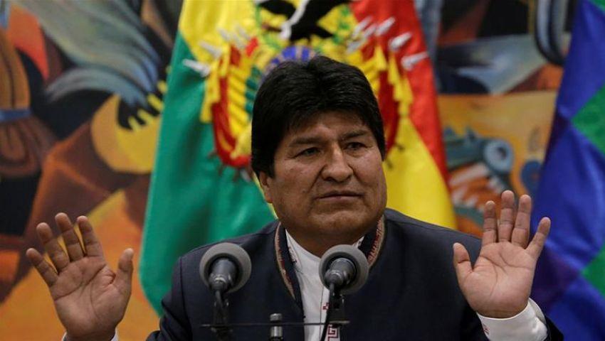 خارج نطاق العالم العربي.. رئيس بوليفيا يخضع للمتظاهرين ويعلن استقالته