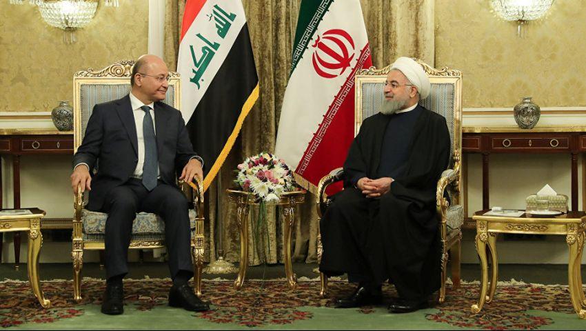 لكسر عزلة إيران ومواجهة عقوبات أمريكا.. روحاني يصل العراق