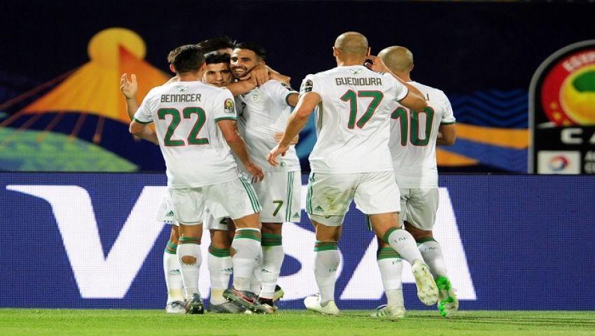 فيديو| الجزائر تتفوق على السنغال في الشوط الأول لنهائي أمم أفريقيا
