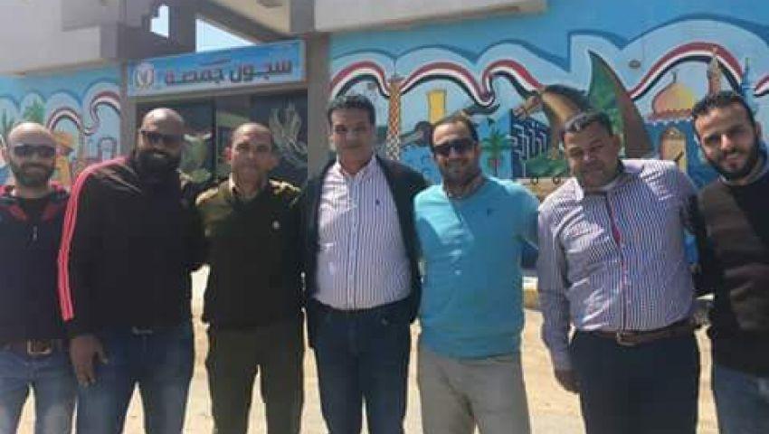 هشام حمزة: جهاز المقاصة يزور نجم المصري «السجين»