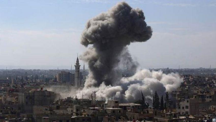 المرصد السوري: دمشق تعرضت لضربات جوية