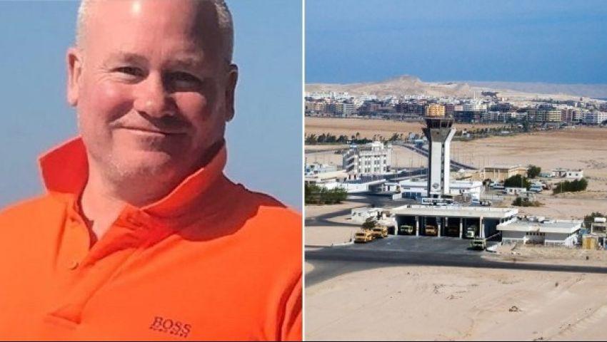 بالفيديو| بتهمة التحرش.. ضبط سائح بريطاني في مطار الغردقة