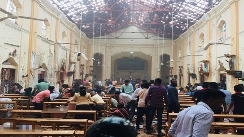 فيديو| تفجير ثامن في سريلانكا.. البلد الهادئ يشتعل
