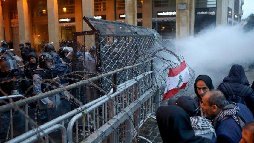 لبنان.. توافد محتجين بمحيط البرلمان عشية مظاهرات «لا ثقة»