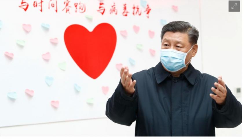 مجلة ألمانية: فيروس كورونا قد ينزع شرعية الرئيس الصيني