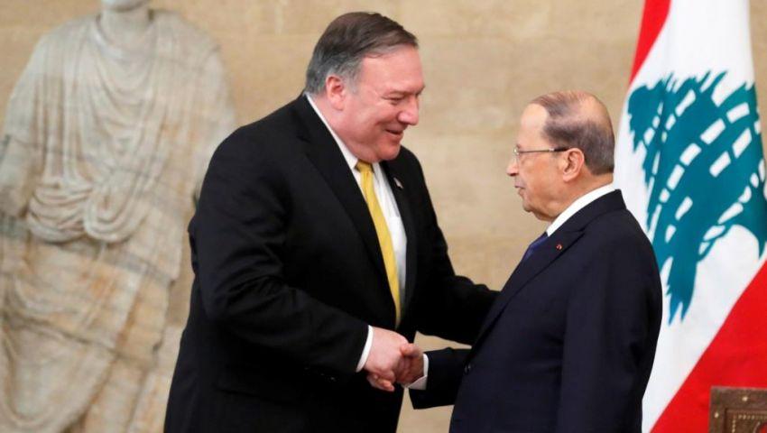 دعم وانقسام ورسائل لإيران.. هذا ما حدث في زيارة بومبيو للبنان