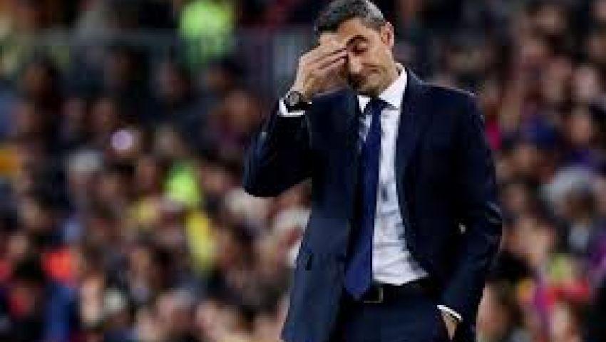 بعد خسارة كأس الملك.. رئيس برشلونة يحدد مصير فالفيردي