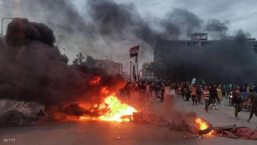 قتيلان ومصابون في احتجاجات بالناصرية في العراق