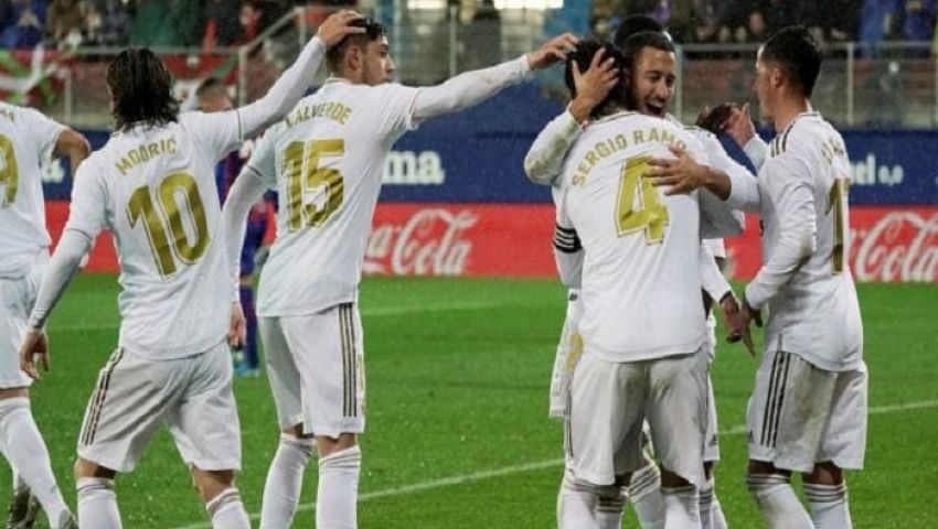 فيديو| ريال مدريد يحلق في صدارة الليجا برباعية في شباك إيبار
