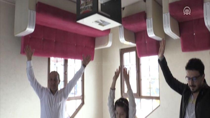 فيديو| حياة بالمقلوب.. امشِ «متدليا» من السقف في فيلا تركية