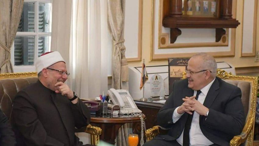بعد «معركة» الطيب والخشت.. ماذا فعل المفتي في جامعة القاهرة؟