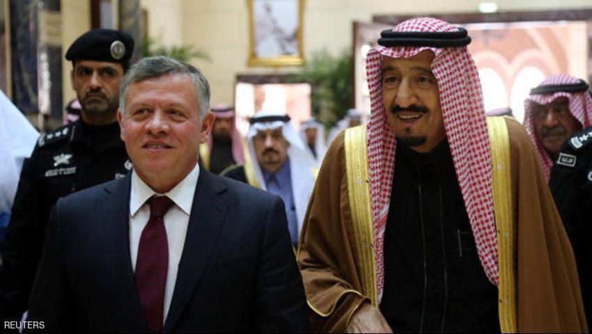 قبيل القمة.. العاهل السعودي في زيارة رسمية للأردن