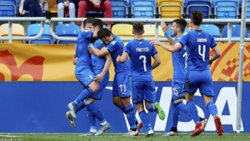 فيديو وصور|  مونديال الشباب..  إيطاليا تهزم بولندا وتعبر لربع النهائي