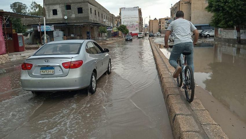 استمرار رفع حالة الطوارئ لمواجهة الظروف الجوية بشمال سيناء