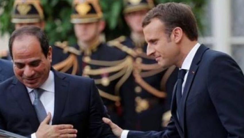 «الإليزيه» يعلن زيارة السيسي لفرنسا الأحد