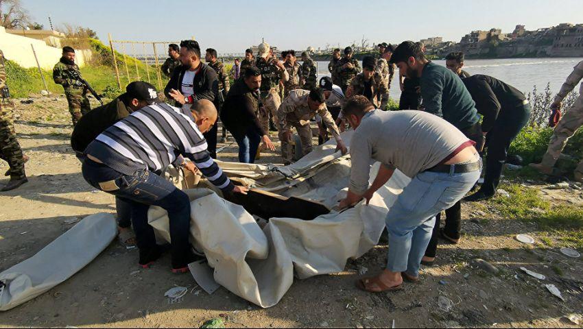 فاجعة العبّارة تمنع الموصليين من الاحتفال بالقضاء على «داعش»