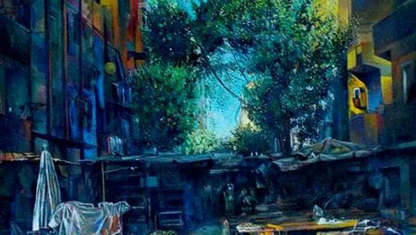 بالصور  «همسة الفن» ..  إبداعات 55 فنانا في الأوبرا