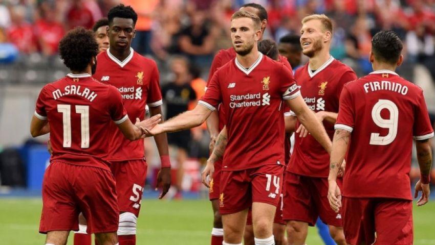 إنفوجراف| «كلوب» يكشف عن تشكيل ليفربول في مباراة الختام