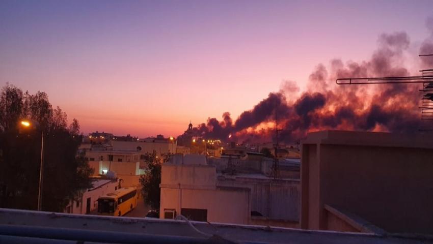 بالفيديو| اندلاع حريق بمعمل أرامكو السعودية في بقيق.. ومغردون يتفاعلون