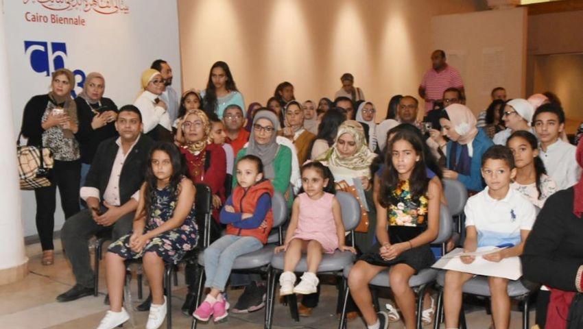 صور  «إبداعات الطفل» في الدورة التأسيسية من بينالي القاهرة الدولي